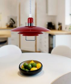 Scandinavian Metal Rise and Fall Modern Pendant Light - 11 Colours Available!