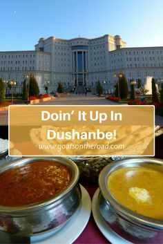 Doin' It Up In Dushanbe!