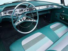 1958 Chevrolet Impala Convertible - Hyman Ltd. 1958 Chevy Impala, Chevrolet Impala, Chrysler New Yorker, American Classic Cars, Hood Ornaments, Dashboards, General Motors, Luxury Cars, Convertible