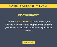 Did you know? Visit map.ipviking.com and you'll know if you're country is under ‪#‎cybersecurity‬ attact