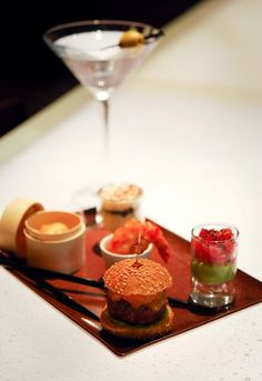 James Bond Around the World - Oct 2012 [Le Royal Monceau - Raffles Paris] #Food