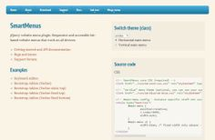 28 Exciting And Fresh #jQuery Navigation Plugins