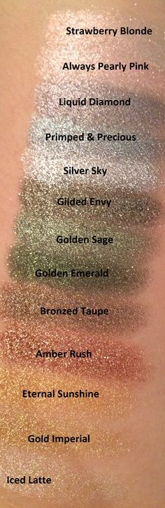 L'Oreal Infaillible Eyeshadows Color Swatch (I need this set)
