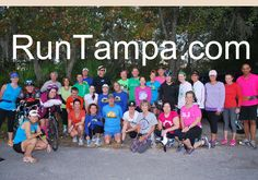 RunTampa.com group run at Flatwoods Wilderness Park in December, 2012.