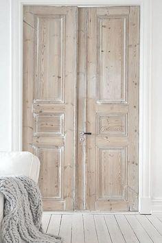 Interior Doors... Via shabbyℯchic.ℓife