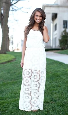 The Pink Lily Boutique - Stop and Stare Maxi , $40.00 (http://thepinklilyboutique.com/stop-and-stare-maxi/)