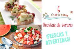 6 recetas de verano �frescas y divertidas!
