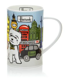And the story is hilarious!                      Westie Pop Art Pup Mug by Harrods