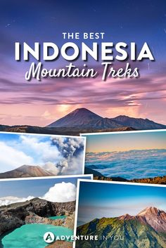 Indonesia Travel   Looking to go trekking while in Indonesia? Here are a few of the best mountains to summit while in the country.