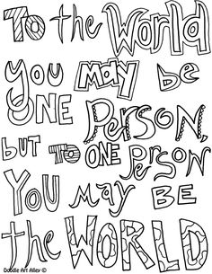 DOODLE ART ALLEY - FREE QUOTES totheworld.jpg