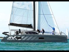 OUTREMER 4X Guided and Commented Tour Video in English is presented by Matthieu by Outremer Yachting. Come on board and discover this very new racing version...