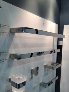 Rounded square towel rack