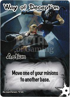Way of Deception - Ninjas - Smash Up Card | Altar of Gaming