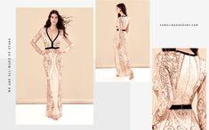 eda586226 Carolina Vázquez · Dress Atelier. Impecable vestido largo ...