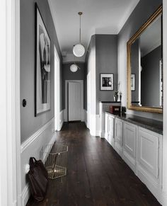 18 Beautiful Scandinavian Hallway Designs You Need To See flur farbe 18 Beautiful Scandinavian Hallway Designs You Need To See Hallway Decorating, Interior Decorating, Decorating Tips, Hallway Designs, Hallway Ideas, Hall Design, Contemporary Decor, Home Interior Design, Interior Doors