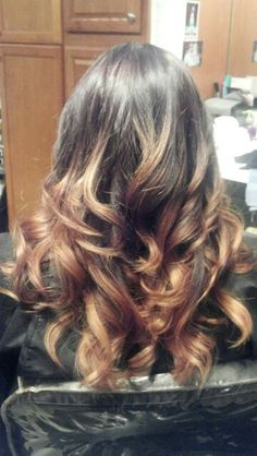 Ombre by Lisa @ Reflections Salon