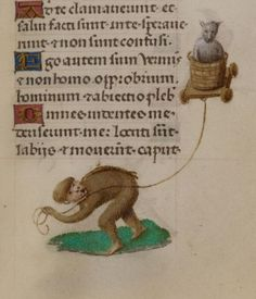 Taking the cat for a ride: British Library Add MS 18852 - http://www.bl.uk/manuscripts/Viewer.aspx?ref=add_ms_18852_f101r