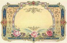 Vintage label uit frankrijk