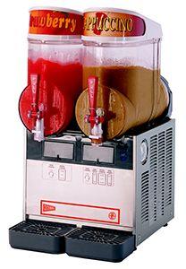 Cecilware FrigoGranita NHT2UL 5 Gallon Double Bowl Granita Dispenser with Stainless Steel Finish