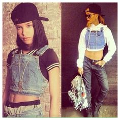 Aaliyah (1979-2001) vs Rihanna