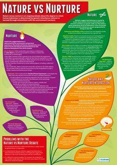 Nature vs Nurture Psychology Poster …