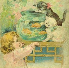 Fishbowl, Painting, Art, Round Fish Tank, Art Background, Fish Bowl Vases, Painting Art, Kunst, Paintings