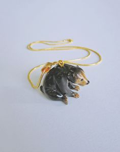 Image of All Creatures Great & Small - Bear Necklace