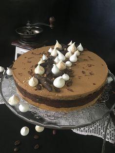 Csokoládés-kávés torta sütés nélkül