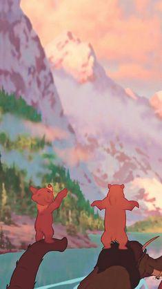 Day 14 - Favorite Lyrics - 'I'm On My Way' - Brother Bear - (Disney 30 Day Challenge) Disney Animation, Disney Pixar, Disney E Dreamworks, Disney Amor, Disney Cartoons, Disney Magic, Disney Movies, Cartoon Wallpaper, Disney Phone Wallpaper