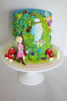 Fairy garden cake My creations Pinterest Fairy garden cake