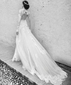 30 vestidos de novia impresionante, con trenes
