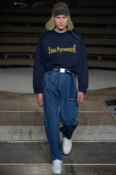 Gosha Rubchinskiy Fall 2016 Menswear Fashion Show