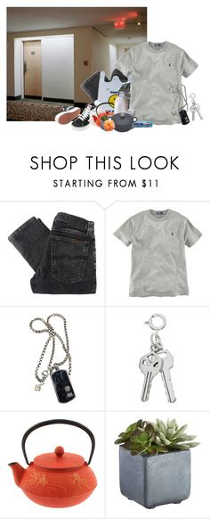 """""""Untitled #900"""" by jaykitten123 ❤ liked on Polyvore featuring Nudie Jeans Co., Ralph Lauren, David Yurman, Vans, Crate and Barrel and Le Creuset"""