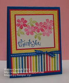 a card a day: Marvelous Stripes