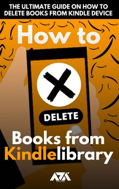 The Ultimate Guide on How to Delete Books from Kindle Device (With Screenshots) Computer Internet, Kindle, Reading, Books, Libros, Word Reading, Book, Reading Books, Book Illustrations