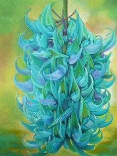Painting of Jade flower.
