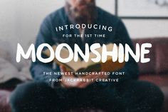 Moonshine by Jackrabbit Creative on @creativemarket