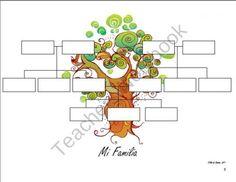 Family Trees, Spanish product from La-Profesora-Frida on TeachersNotebook.com