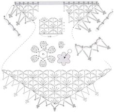 Charted shawls