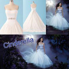 Disney wedding dresses- Cinderella