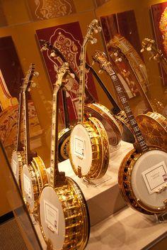 American Banjo Museum, Bricktown, OK City...
