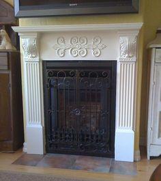 Nice, simple but elegant fireplace surround