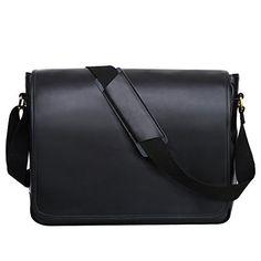 Offerta di oggi - Leathario Borsa a Tracolla in Pelle da Uomo per Lavoro  Messenger Bag 4297ce9f6e1