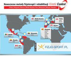 Mapa szkoleń Fizjo-Sport | Fizjoterapia i Rehabilitacja - Kinetic Control