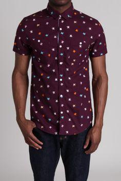 Soul Star MS Crayon S/S Woven Shirt