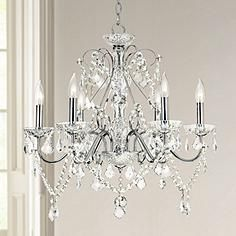 Vienna Full Spectrum™ Chrome and Crystal Chandelier