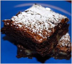 Nearly Fat-Free Brownies | http://holycowvegan.net/2009/09/fat-free-brownies.html