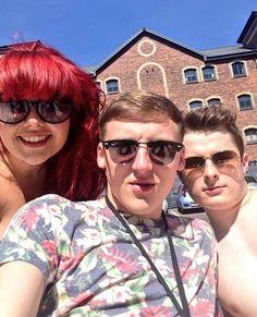 Rebecca Craven aka Rhiannon Salt / Mark Beswick aka Darren Hughes / Max Bowden aka Justin Fitzgerald @BeckyLucie @markabeswick @MaxBowden #WaterlooRoad