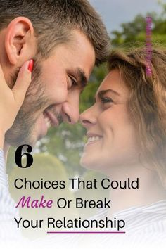 Feeling like no matter what you do you can get your relationship back on track? These 6 choices can make or break your relationship success. #marriageadvice #relationshipadvice #datingtips #relationshipgoals #love