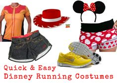 Are you doing any runDisney or Halloween races that require a costume or some extra flair? I am doing the Rock N Roll Halloween Half Marathon in Los Angeles at the end of October, then of co... Princess Running Costume, Running Costumes, Run Disney Costumes, Running Outfits, Workout Outfits, Disney Workout, Disney Running, Disney Fun, Disney Races